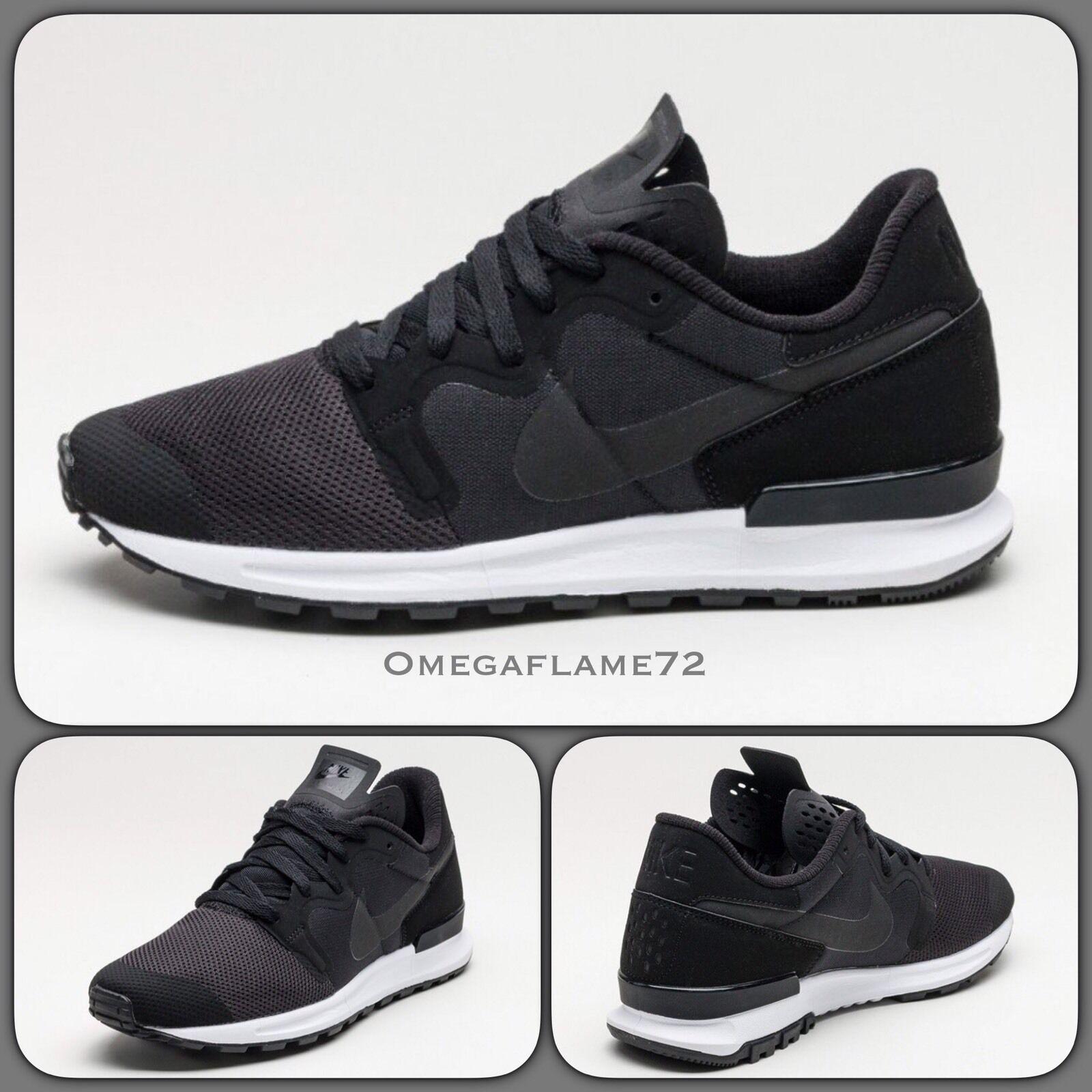 Nike Air Berwuda US noir 555305-0048.5 EU 43 US Berwuda 9.5 Waffle Internationalist 21ceaf