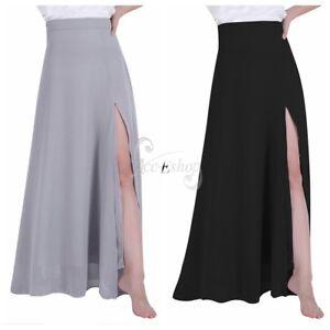 Women/'s Long Maxi Evening Dress Side Split Skirt Cocktail Party Bridesmaid Gown