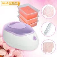 Hug Flight Paraffin Wax Heater Spa Bath Peach Kit 3 Peach Paraffin Wax