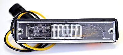 Adattabile Fiat Cinquecento Numero Targa Lampada Luce 7657557- Avere Sia La Qualità Della Tenacia Che La Durezza