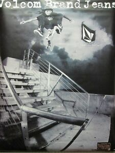 VOLCOM-surf-skateboard-Louie-Lopez-Valient-Thorr-Big-Banner-New-Old-Stock-NICE