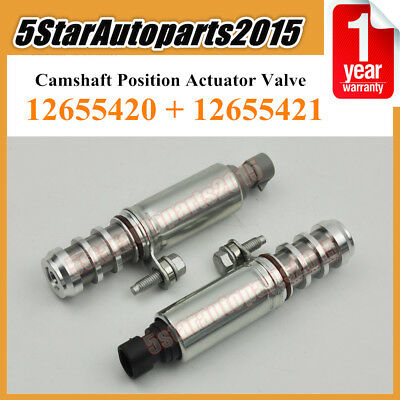 Intake + Exhaust Camshaft Position Actuator Solenoid Valve for Chevy
