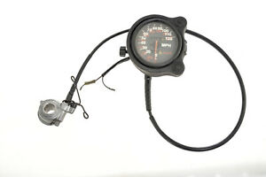 HONDA VFR400 NC21 OEM SPEEDO SPEEDOMETER WITH CABLE AND DRIVE UNIT