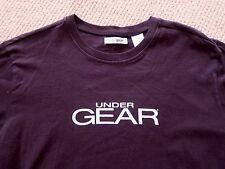 New UNDERGEAR Under gear TEE T-SHIRT Black Size L