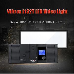 VILTROX Photo Studio LED Video Light Lamp for Canon Nikon DSLR Camera Camcorder