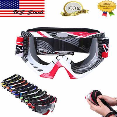 Outdoor Goggle Eyewear Glasses Dirt  RacingOff Road ATV Glasses Face Mask PSB