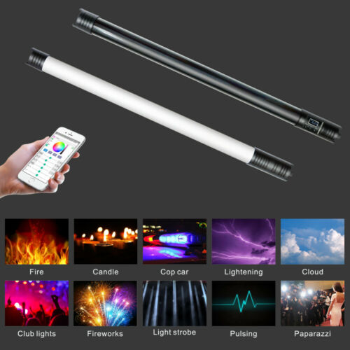 Yidoblo LT-RGB2 RGB Colorful Handheld Ice Stick LED Video Light Built-in Battery