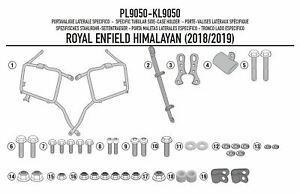 KL9050 Side luggage holder specific for MONOKEY/® or RETRO Himalayan ROYAL ENFIELD 2018 2019