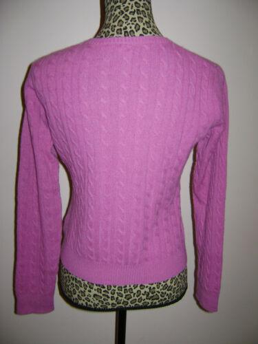 Cashmere M Pink Aqua Bluse Shirt Størrelse Top 100 Women Sweater Bedøvelse fzRqCU