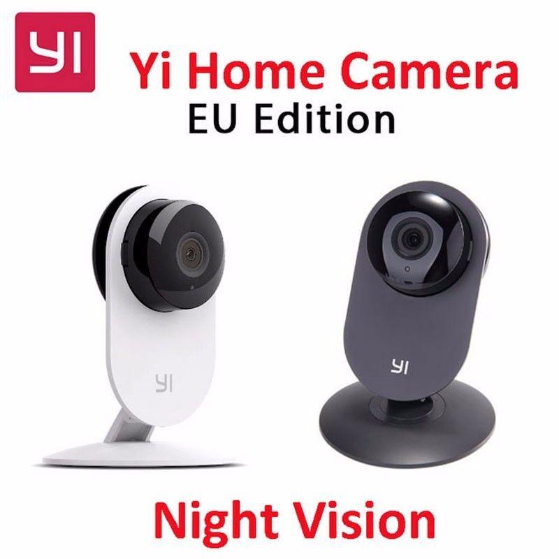Xiaomi Yi Smart Camera Xiaoyi Ants Webcam IP Wifi Wireless Camaras Cctv Cam Night Vision