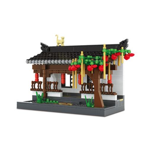 WANGE OVP W3312 Architektur Chinesischer Korridor im Hui Stil
