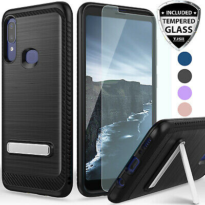 YmhxcY 360 Degree Rotating Ring /& Bracket Dual Layer Shock Bumper Cover for Alcatel 3V 2019 5032W 6.7-ZH Metal Slate Alcatel 3V 2019 Case Not Fit Alcatel 3V 2018 with HD Screen Protector
