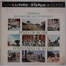 RESPIGHI: Pines of Rome, REINER RCA LIVING STEREO SD LSC-2436 Vinyl LP VG++