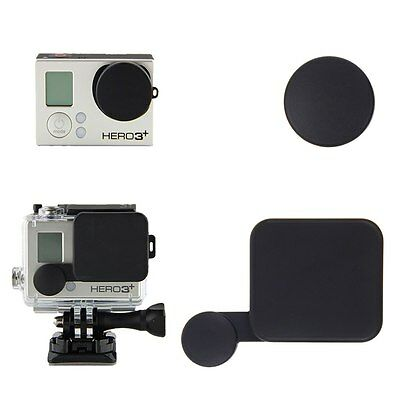 Camera Lens Cap Cover + Housing Case Protector for Gopro HD Hero 3+ Accessories