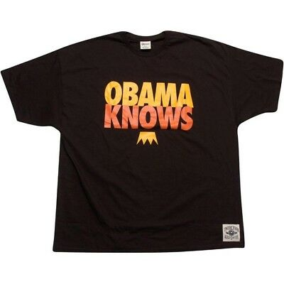 Painstaking Undrcrwn Obama Knows Men's Brown T Shirt 10444brngl Handsome Appearance Activewear Tops