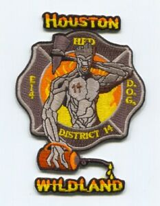 Houston-Fire-Department-Engine-14-District-14-Wildland-Patch-Texas-TX