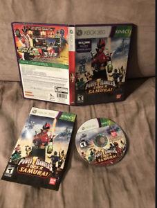 Power Rangers Super Samurai (Microsoft Xbox 360, 2012) CIB
