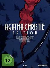 4 DVD * AGATHA CHRISTIE EDITION - Sir Peter Ustinov # NEU OVP /