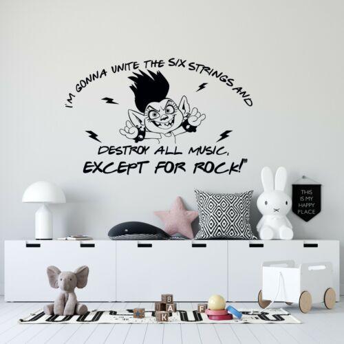 Queen Barb Trolls Villain Quote Kids Bedroom Home Vinyl Wall Decal Sticker 13x20