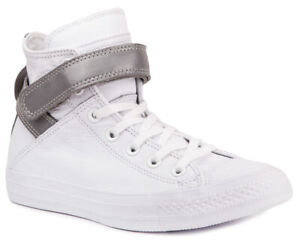 5a9c59d1757d CONVERSE Chuck Taylor All Star Brea Leather 553423C Sneakers Shoes ...