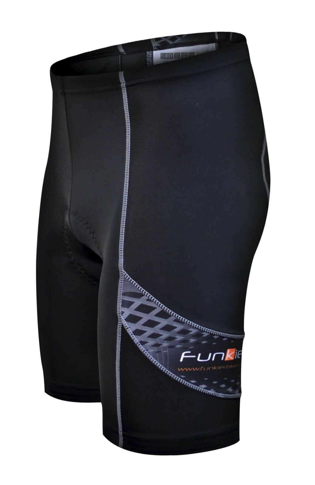 Funkier Mens 8 Panels Cycling  Shorts - Size Medium  lowest whole network