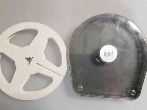 Con Estuche Protector Carrete de película de cine de 8mm estándar 400 FT aprox 7 pulgadas de diámetro