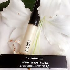 MAC Lipglass ~ Almondine ~ Lipgloss 4.8g Nuevo en Caja de tamaño completo