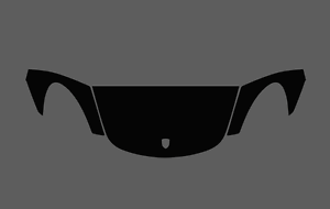 Cayman 718 Porsche Boxster CLEAR Bonnet Wing Stone Chip Guard Protection Film