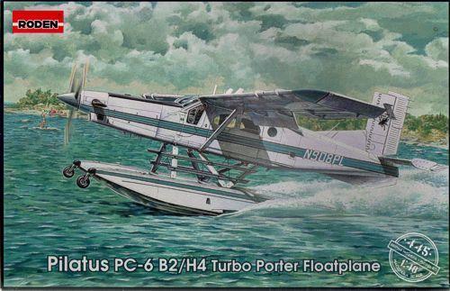 saludable Roden 1 48 48 48 Pilatus PC-6 B2-H4 Galleggianti  445  Envío 100% gratuito
