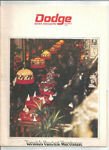 Dodge-News-Magazine-October-1971-Toronto-039-s-Fanciest-Warehouse