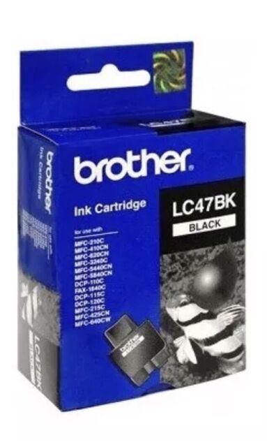 Genuine Brother LC47BK BLACK Ink Cartridge for MFC-210C/410CN/620CN/3240C/5440CN