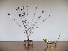 Sonido de juego viento juego 70er Design vidrio metal True vintage 70´s decoración intranquilidad