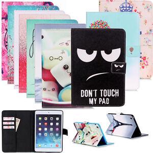 Tablet-Tasche-Case-Cover-Schutzhuelle-Schutz-Etui-Tasche-Wallet-Motiv-Book-Style