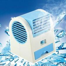 USB Portable Mini Ice Cooled Small Desktop Air Cooler Bladeless Fan