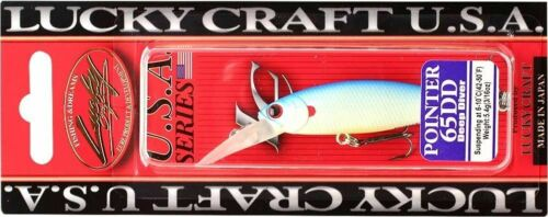 Lucky Craft Pointer 65 DD 6,5cm 5,4g Fishing Lures Choice Of Colors