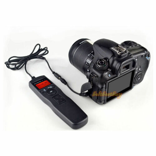 LCD Timer Remote Shutter Release Cable fr Olympus EM5 E620 EPL3 2 EPM1 EP1 E-PM1