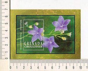 36797) Grenada Gren. 1993 MNH Flowers S/S