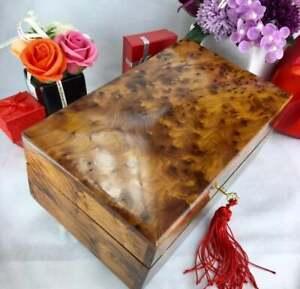 Thuya-wooden-jewelry-box-Gift-handmade-well-finished-Jewellery-storage-wood