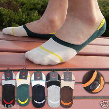 Unisex Cotton Mix Loafer Socks Invisible with Silicone Grip Low Cut Ankle Socks