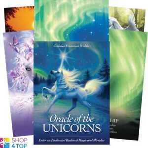 Oracle-of-The-Unicorns-Deck-Oracle-Geheimlehre-Blue-Angel-New