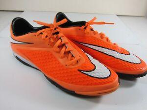 cd7267226 Nike Hypervenom Phelon IC Men's Size 11.5 Neon Orange/White Indoor ...