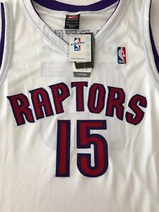 best website 766b6 992da Details about Nike NBA Vince Carter sz 48 XL Toronto Raptors Jersey 100%  Authentic White BNWT