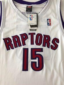 best website 8ee72 d1390 Details about Nike NBA Vince Carter sz 48 XL Toronto Raptors Jersey 100%  Authentic White BNWT