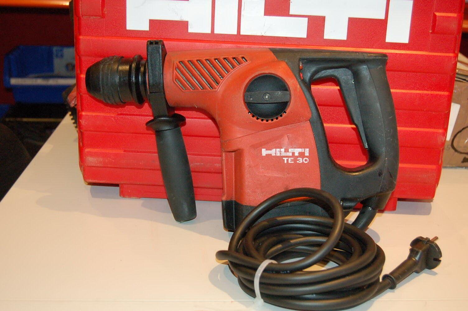 Hilti-TE30 AVR Bohrhammer/1-A Zustand+Garantie+Rechnung mit Koffer