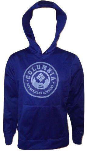 Mens Columbia Dark Blue Hoodie Size Medium