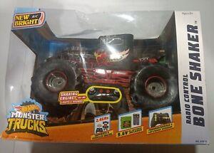 Monster Truck1:10 Scale Radio Controlled  2.4GHz 9.6V  Wheels Bone Shaker