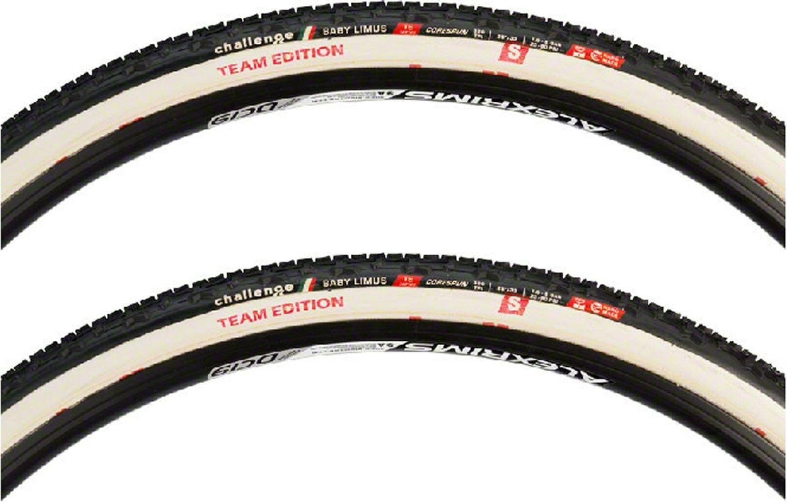 Challenge Baby Limus S Team Edition cyclocross tubular 700 x  33   2 tires  sales online