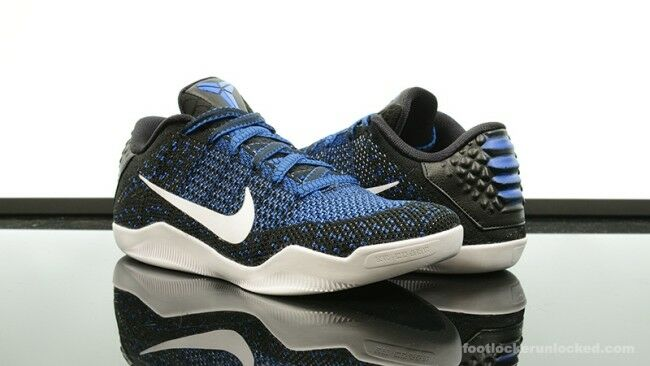 Nike Air Kobe Elite XI Sneakers New, Mark Parker Black / Blue 822675-014 sku AA