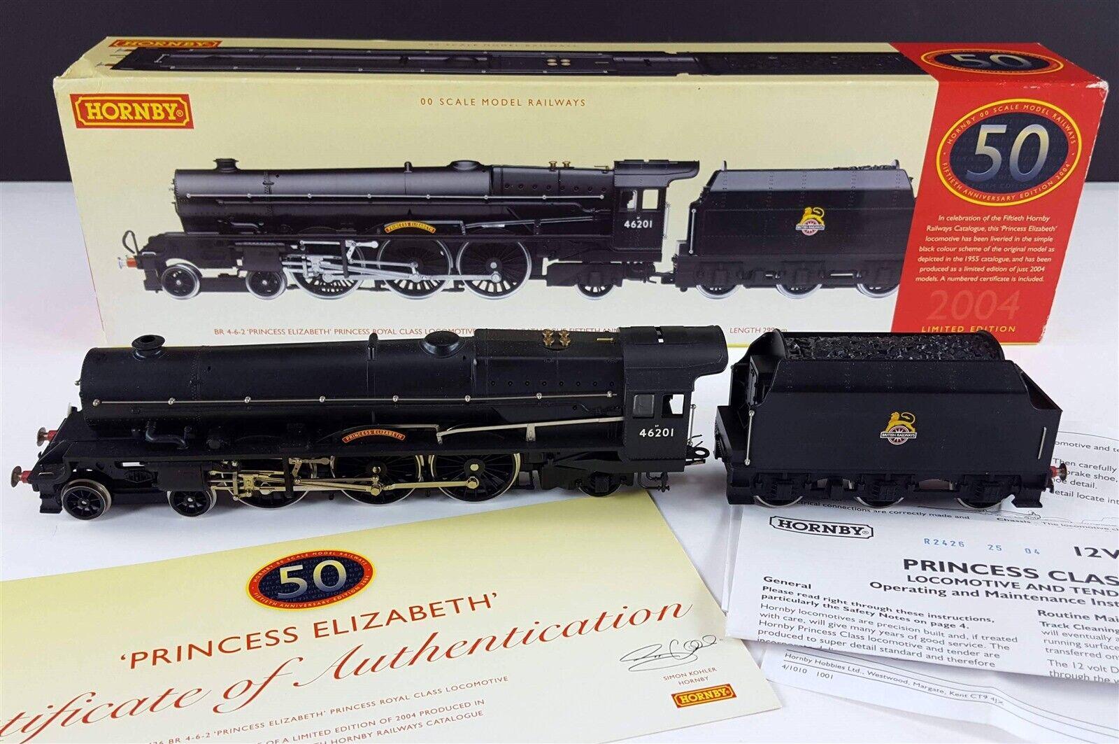 Hornby R2426 Prinzessin Königlich Klasse Elizabeth Br 4-6-2 Dampflokomotive