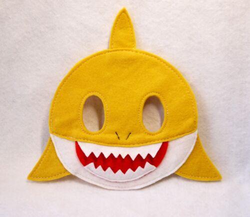 Fête Anniversaire Enfant Adulte Animal Baby Shark Masque Costume Sac De Fête